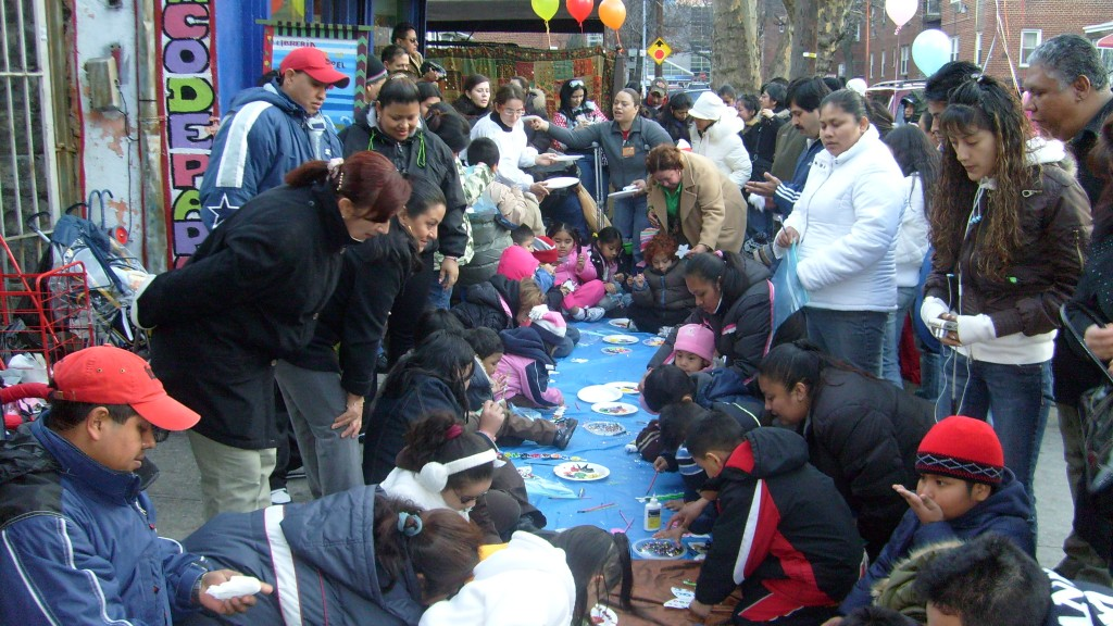 El Taller artístico durante la celebración del Día de Reyes en el 2008