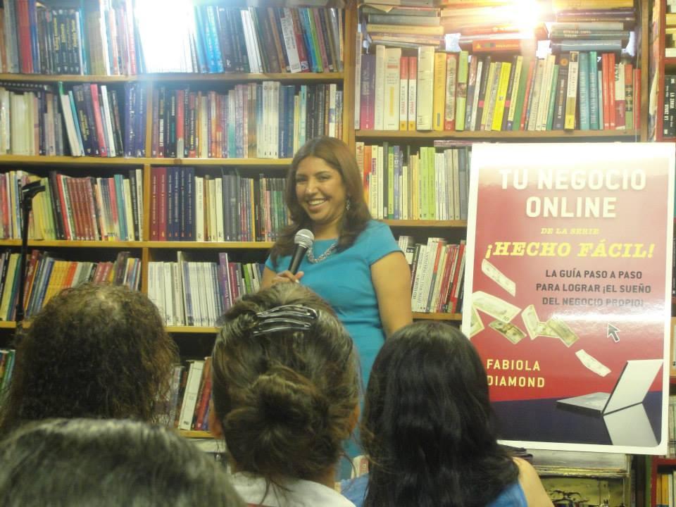 Fabiola Diamond en Barco de Papel