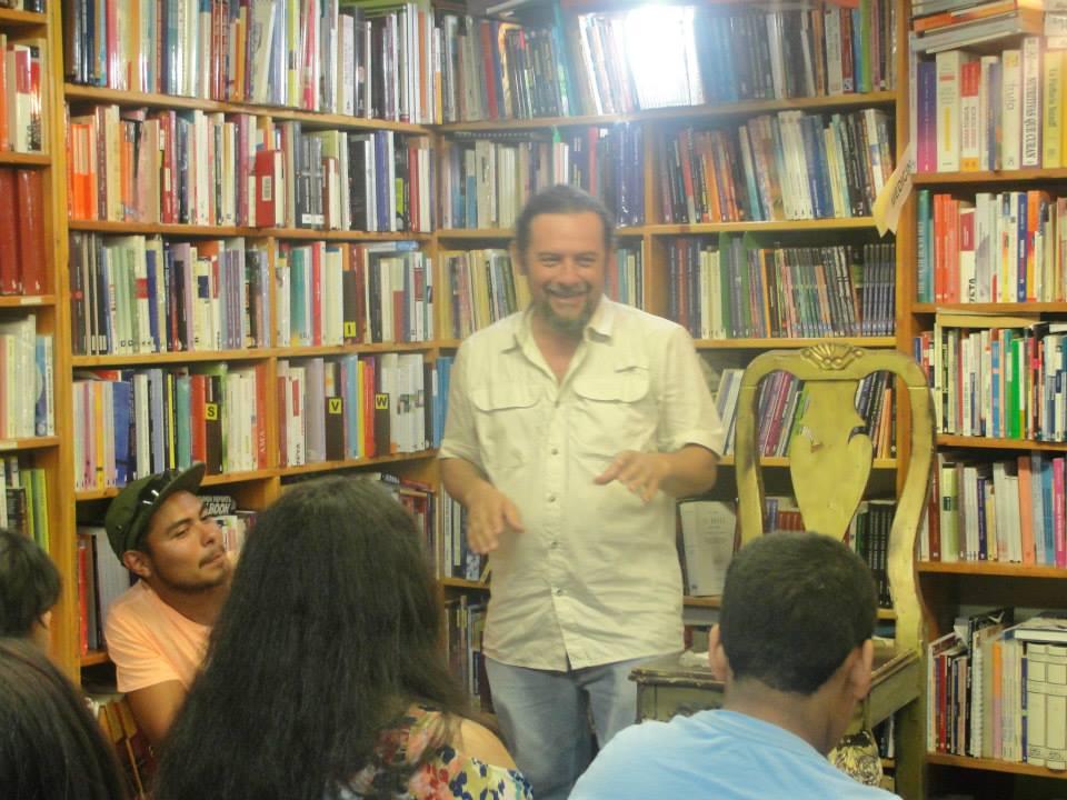 Otoniel Guevara en Barco de Papel