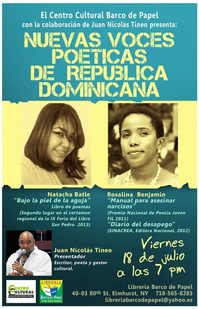 Nuevas Voces  Poéticas de  República  Dominicana