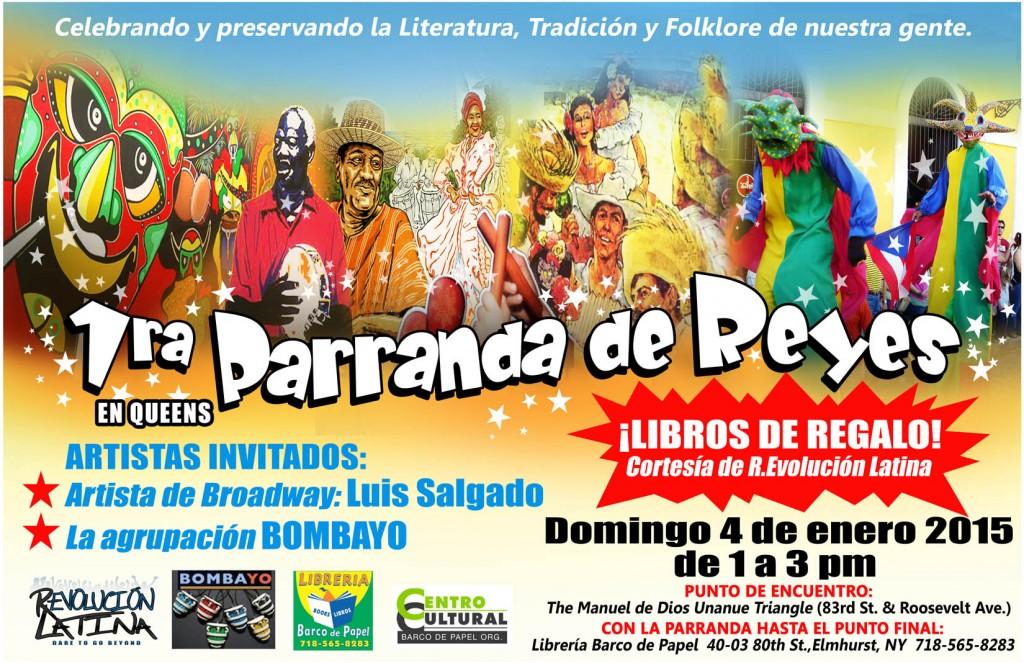 1ra Parranda de Reyes.