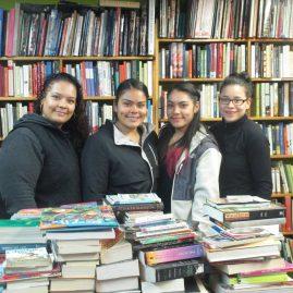 Tiffany Méndez, Verónica Castillo y Mary Gómez