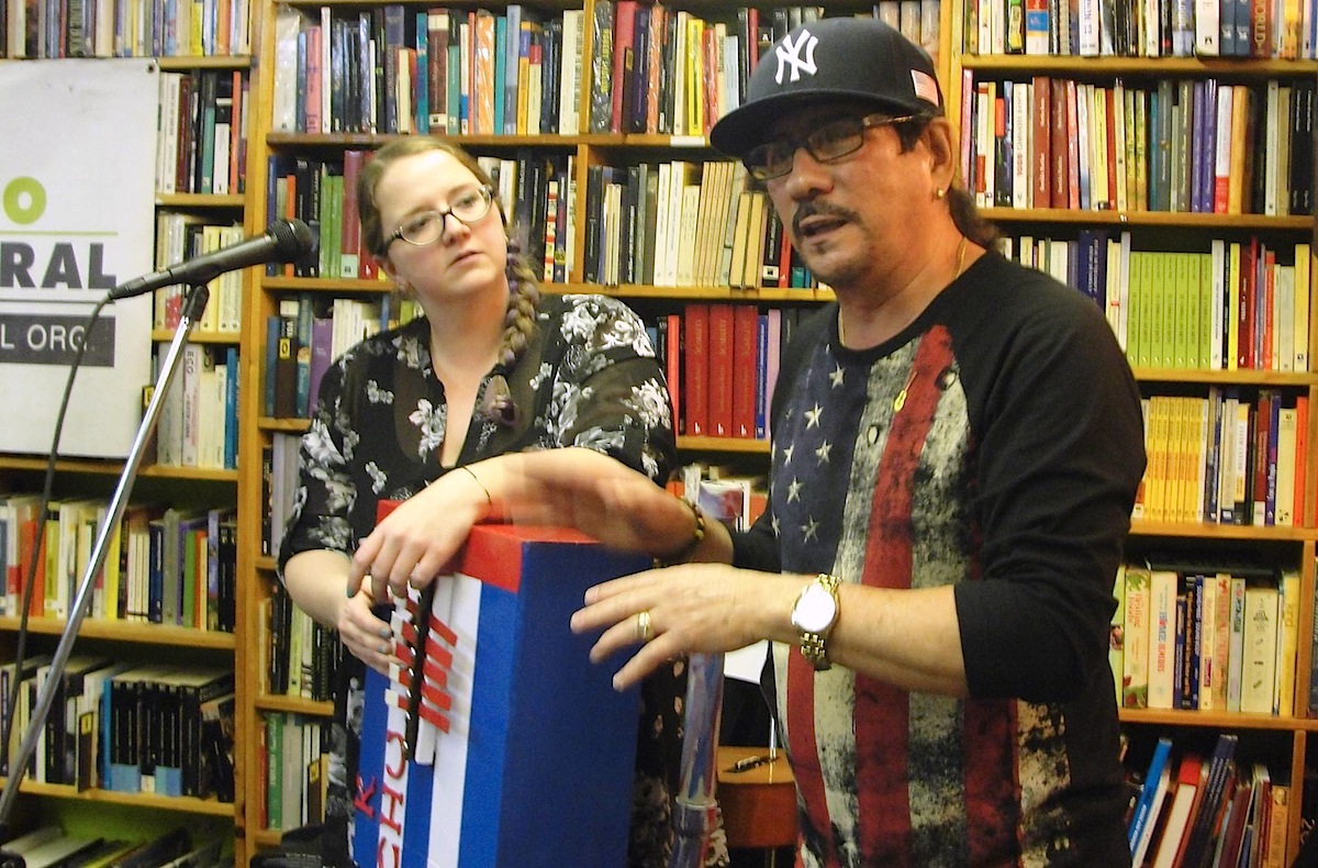 Jesus Alvarez and Katherine Lacey presenting the Kaja Chu