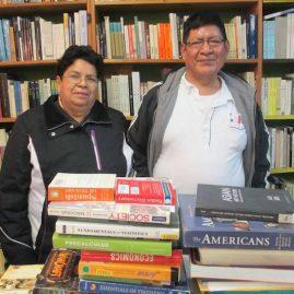 Mario Chipantiza y Nuria Burgos