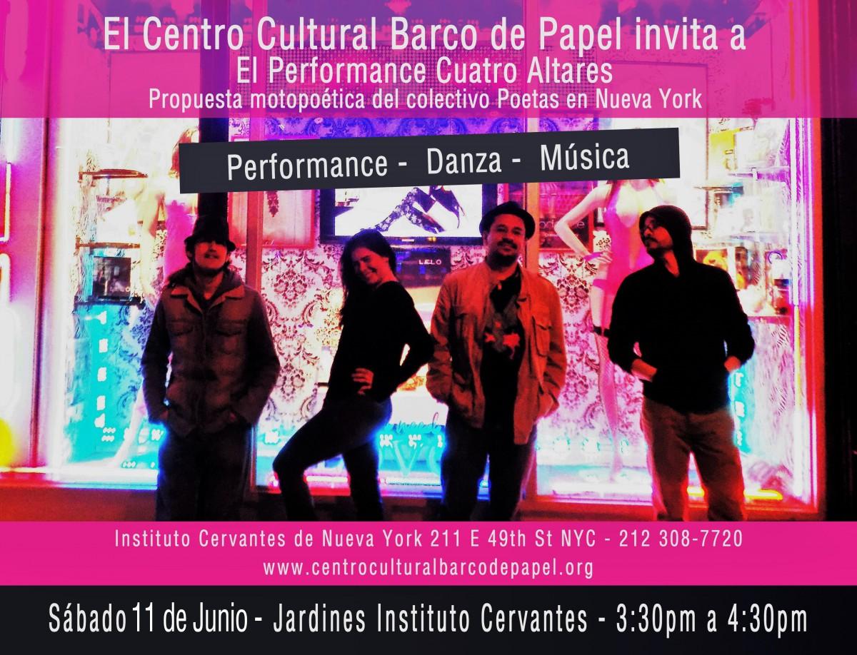 Centro Cultural Barco de Papel Evento 2