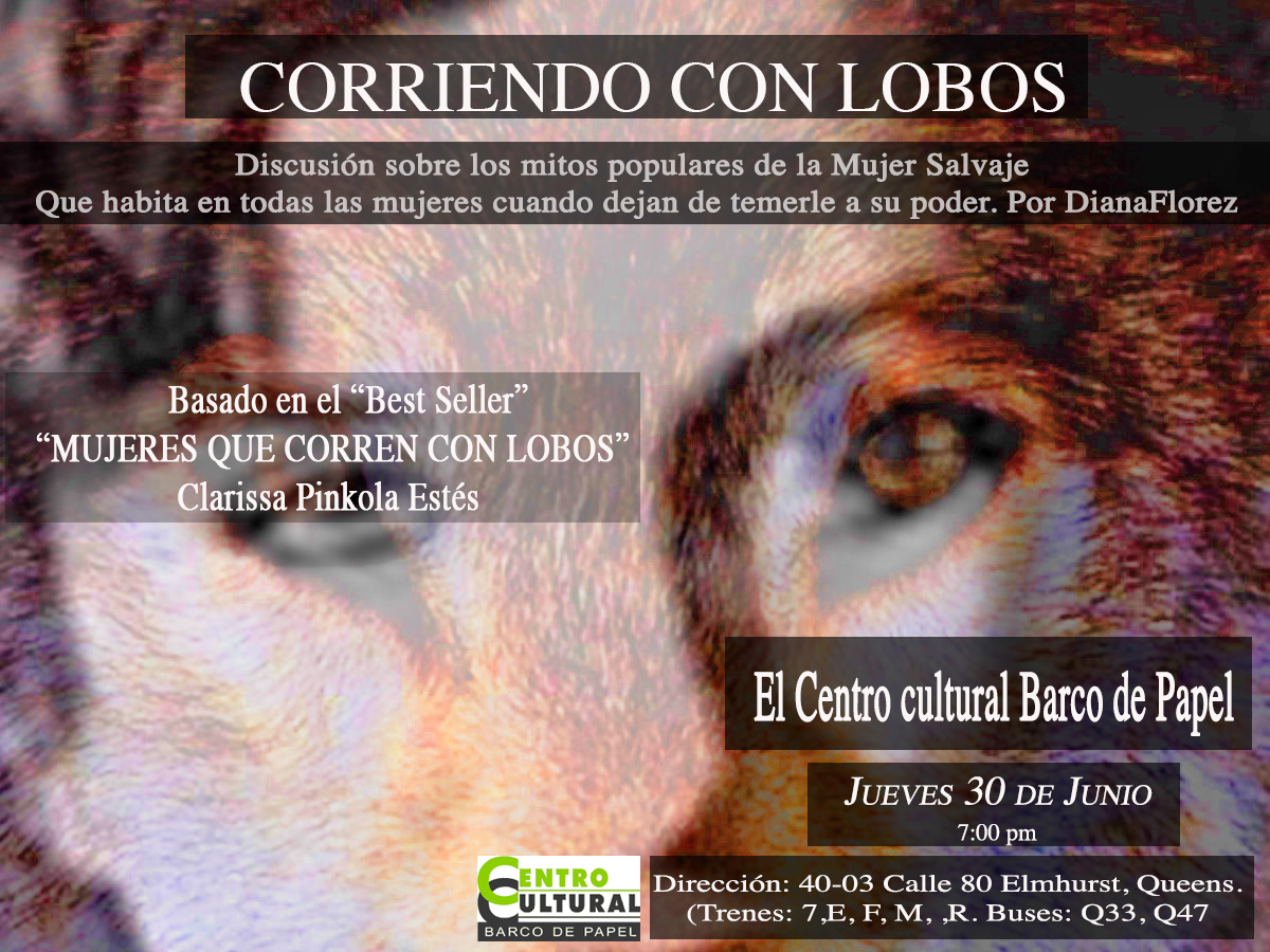 Discussion literaria: Corriendo con lobos @ Libreria Barco de Papel |  |  |