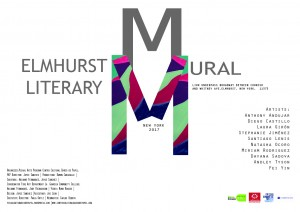 Bienvenido a Elmhurst Literary Mural @ New York | United States
