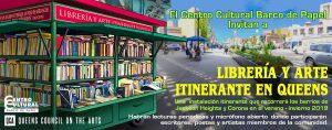 Libreria y Arte Itinerante en Queens @ Diversity Plaza